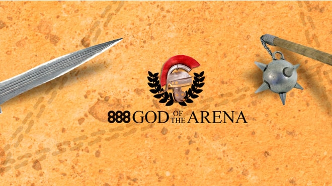 Акция 888poker god of the arena