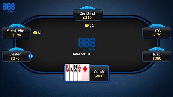 Омаха позиции за покерным столом