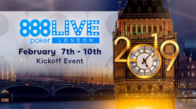 Старт новой серии лондонских живых турниров 888 Poker