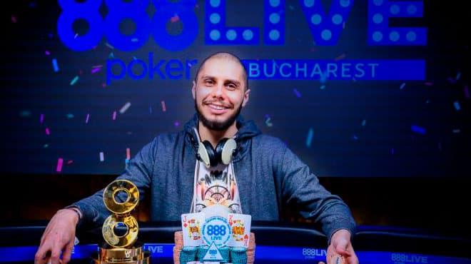 На Главном событии 888poker LIVE в Бухаресте разыграли почти 400 тысяч евро