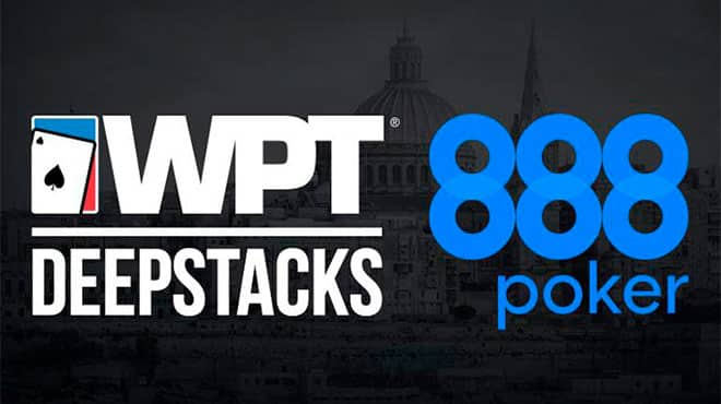 Выиграйте путевку на 888poker LIVE WPTDeepStacks на Мальте