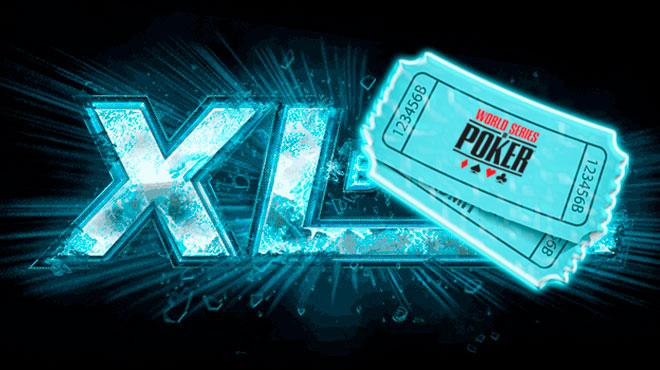 Участники XL Blizzard могут принять участие в розыгрыше 4 путевок на WSOP