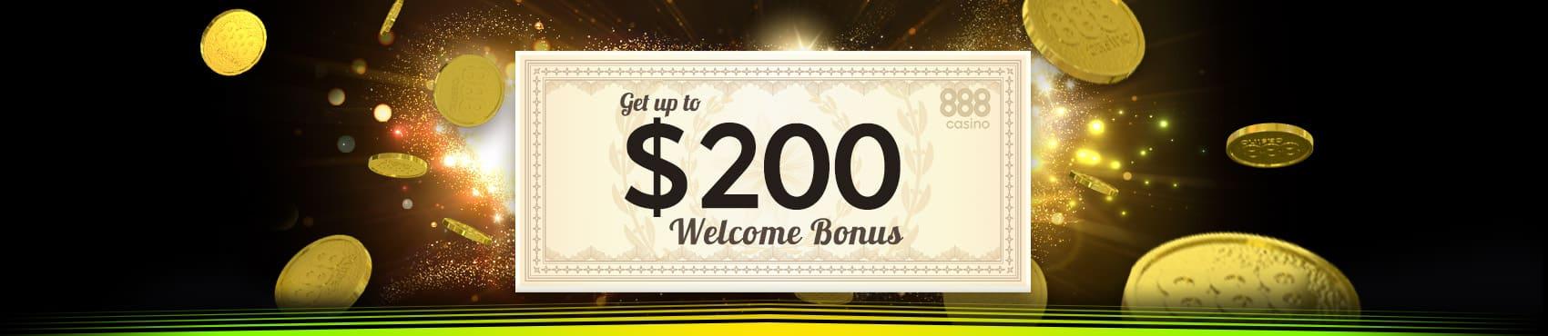 888casino приветственный бонус