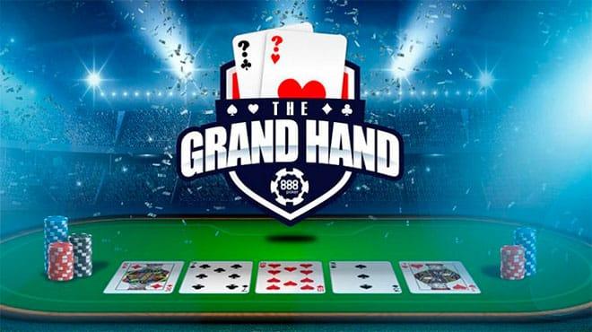 Тысяча долларов за «руку дня» на 888poker
