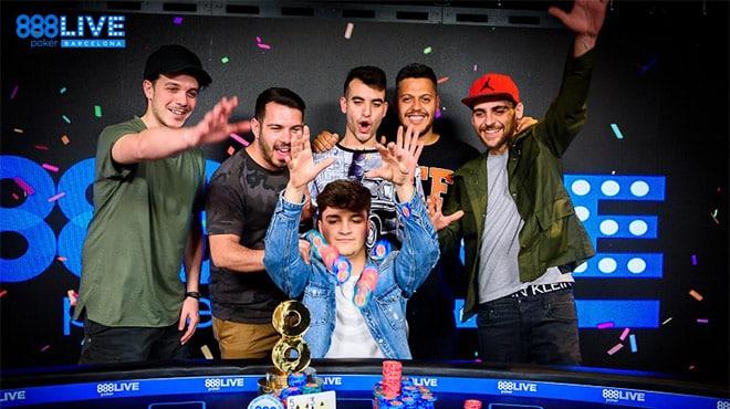 В главном событии 888poker LIVE Barcelona победил итальянец Габриэлле Росси