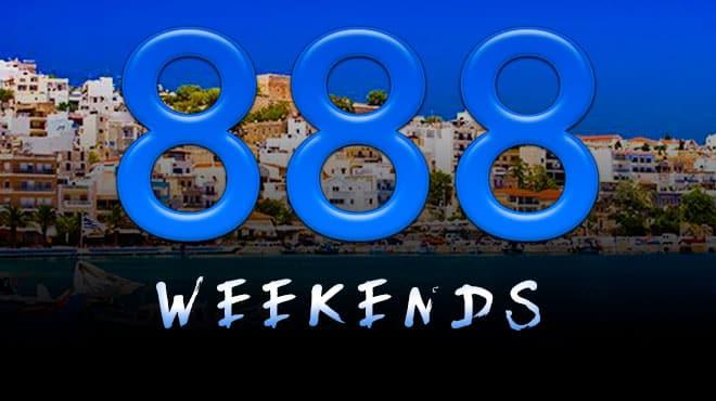 Три бонуса на выходные от 888poker