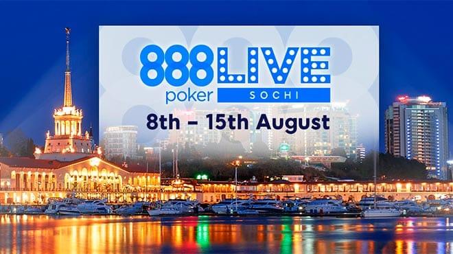 Как бесплатно выиграть билет на Главный Турнир сочинского 888 Live
