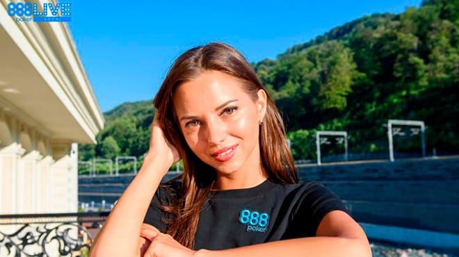 Первым амбассадором рума 888 Покер из России стала Дарья Фещенко