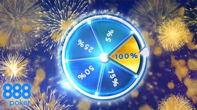 Максимальный кэшбек от 888poker – до 100%!