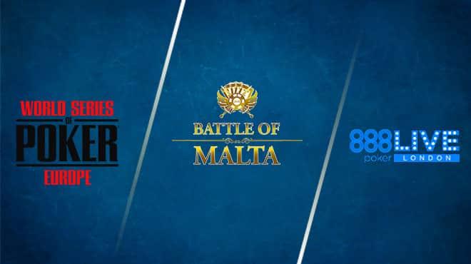 Сателлиты к живым сериям на 888 Покер