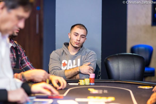 Шиклуна — чиплидер London Poker Festival day 1B