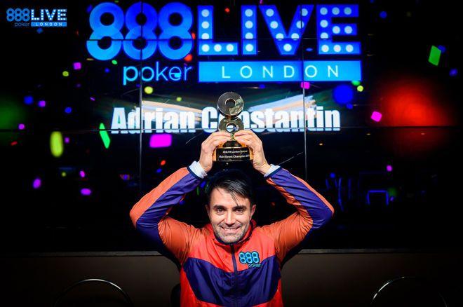 Адриан-Эжен Константин на 888poker LIVE Londn 2019