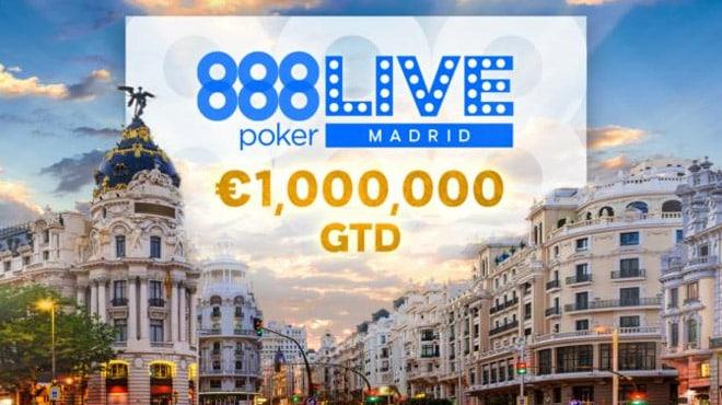 888poker LIVE приедет в Мадрид уже 23 января!