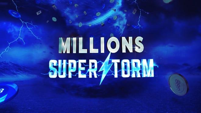 Millions Superstorm на 888poker!