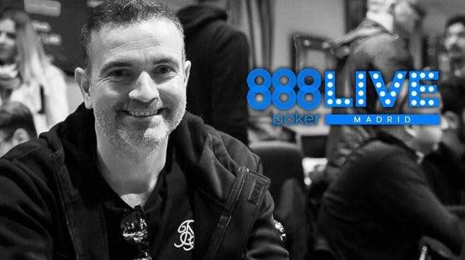 Финал второго дня Главного события 888poker LIVE Madrid 2020