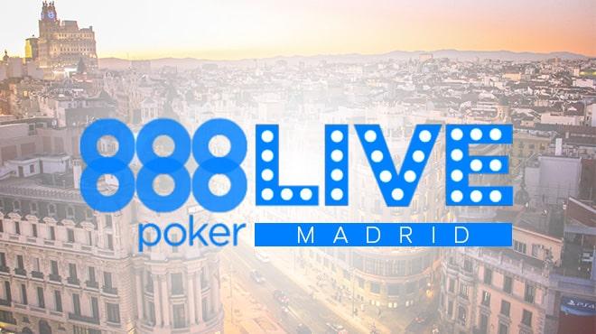 888poker LIVE Madrid в самом разгаре!