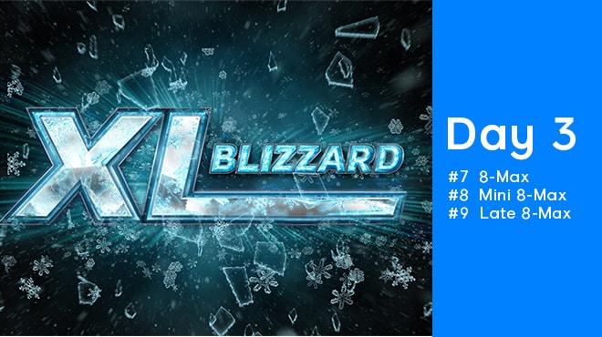 Третий день покерной серии 888poker XL Blizzard 2020