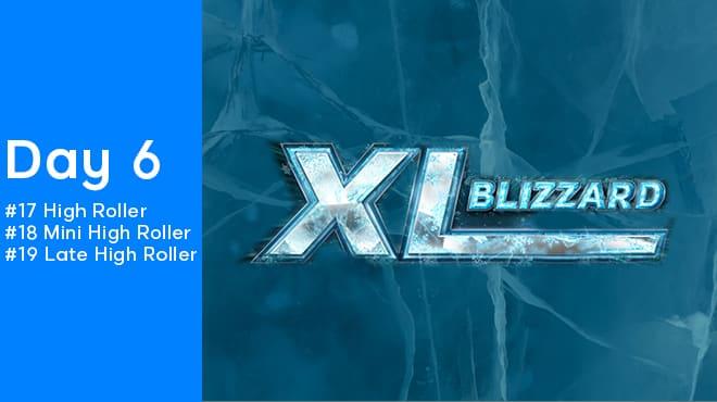 Шестой день покерной серии 888poker XL Blizzard 2020