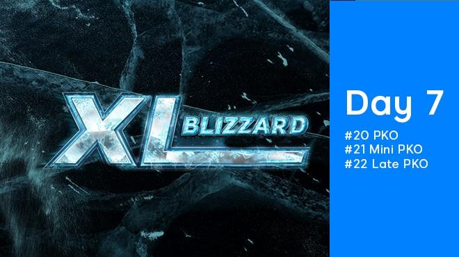 Седьмой день 888poker XL Blizzard 2020