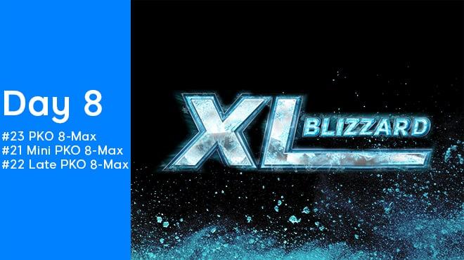 Восьмой день серии 888poker XL Blizzard 2020