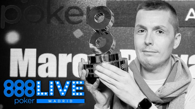 Марко Биаваски – победитель Главного события 888poker LIVE Madrid 2020!