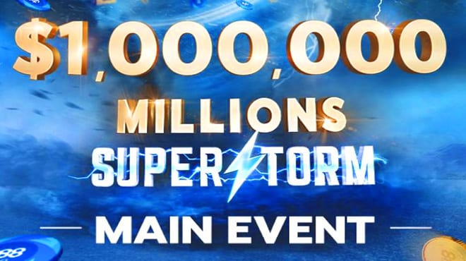 Millions Superstorm — главное событие марта на 888poker