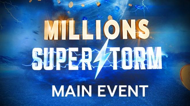 Главное событие «SuperStorm» и итоги других воскресных ивентов на 888poker