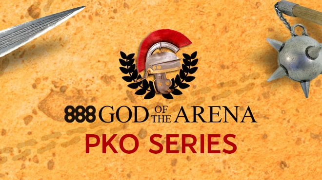 Крупнейшая онлайн-серия в формате PKO на 888 Покер