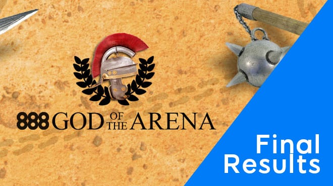 Как закончилась серия God of the Arena PKO на 888poker