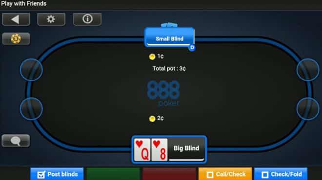 Домашние Игры на 888 Покер теперь и в мобильном!