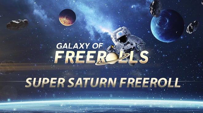 Крупные призовые во фриролле Super Saturn Freeroll на 888poker