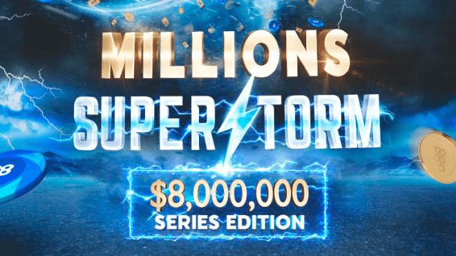 Первый четырехкратный чемпион на серии 888Millions Superstorm!