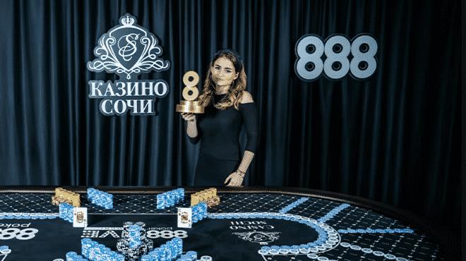 Определился чемпион 888poker Live Weekend Sochi!