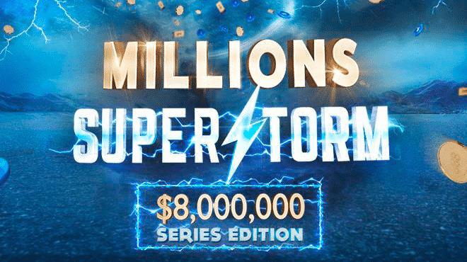 Три покериста выиграли по два титула на 888 Millions Superstorm!