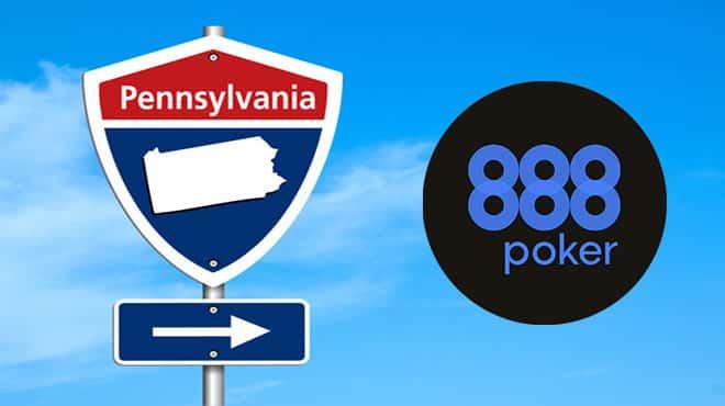888poker теперь будет работать в Пенсильвании!